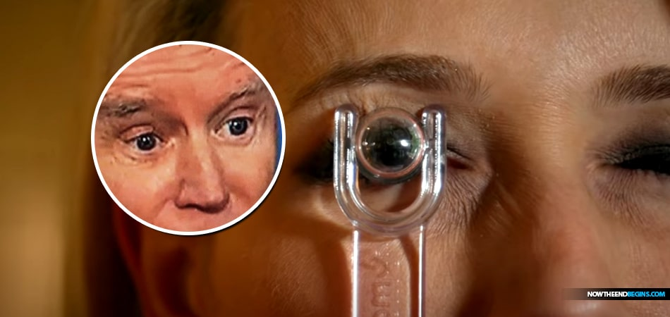 It Is Starting To Look Like Joe Biden Used AR Contact Lenses To Read Scripted Talking Points In Tuesday Night Debate With President Trump