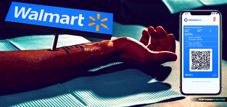 walmart-largest-vaccine-provider-pushes-for-digital-vaccination-credentials-biometric-identification-mark-beast-end-times-bible-prophecy