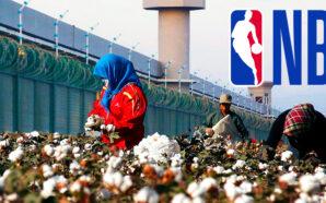 chinese-slave-labor-uyghur-nba-cotton-clothing-woke-hollywood-uyghurs-concetration-camps-national-basketball-association-lebron-james