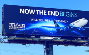 will-you-be-left-behind-pretribulation-rapture-church-nteb-witness-billboards-saint-augustine-florida-f;ight-777-king-james-bible