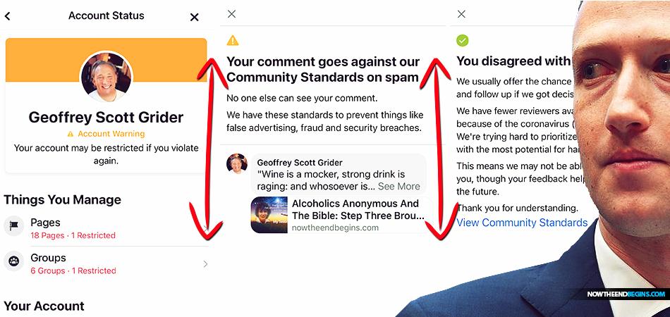 facebook-bans-king-james-bible-censorship-nazis-mark-zuckerberg-persecution-christians-end-times