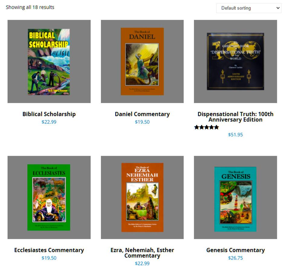 king-james-bible-commentaries-ruckman-larkin-nteb-christian-bookstore-saint-augustine-jacksonville-florida