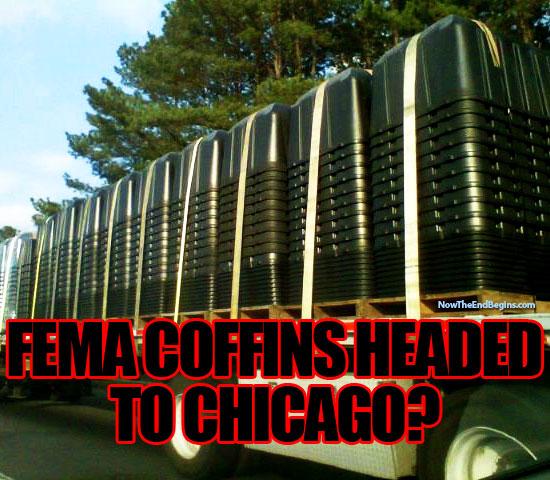 Fema buys coffins