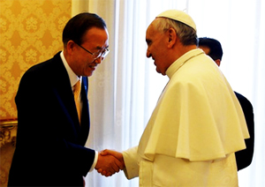 ban-ki-moon-united-nations-calls-pope-franics-global-spiritual-leader