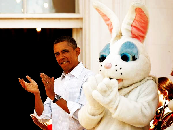 easter-obama-white-house-yoga-bunny-danica-patrick-2013