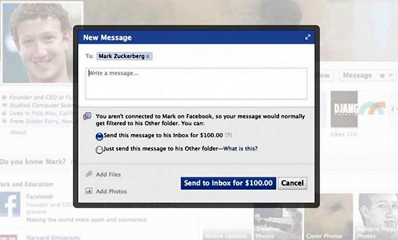 facebook-to-charge-100-dollars-to-send-messages