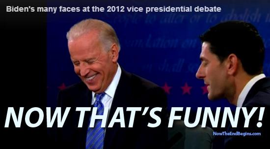 Joe Biden Creepy Laughter