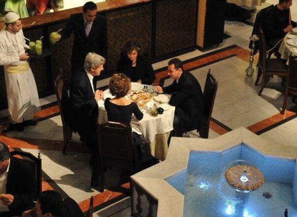 john-kerry-assad-having-cozy-dinner-together-obama-syria-crisis