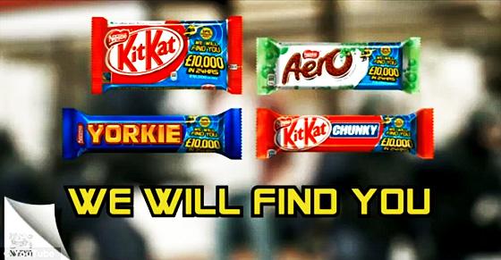 Nestle Kit Kat Bar We Will Find You