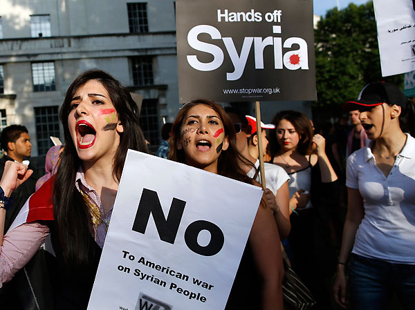 no-to-obama-war-on-syria-blood-for-oil-chemical-weapons