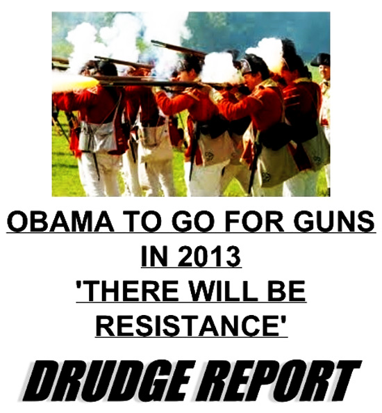 "Obama On Gun Grab Says ""There Will Be Resistance"""
