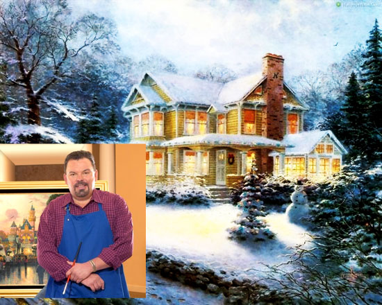 U0027Painter Of Lightu0027 Artist Thomas Kinkade Dies At Age 54 U2022 Now The End Begins